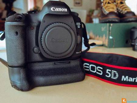 Canon 5D Mark III + Grip Canon + 2 batteries Canon