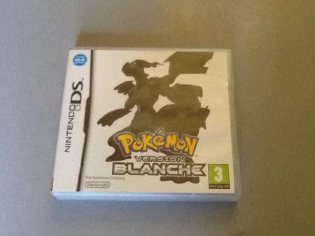 pokemon version blanche sur ds