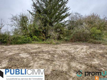 Terrain constructible 1 750 m² - 49140 Fontaine-Milon - Fontaine-Milon
