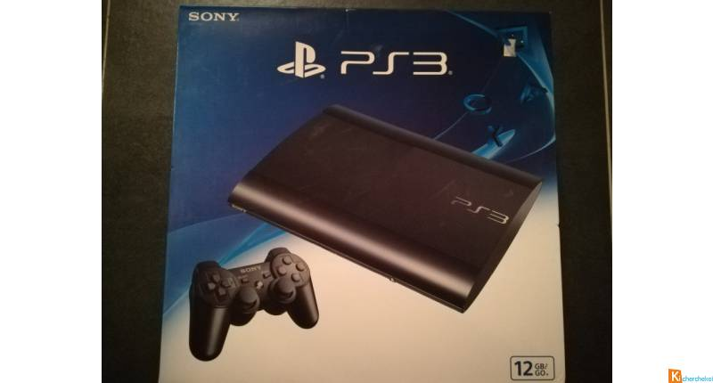 Console Sony Playstation 3 Super Slim 12 GB Noir