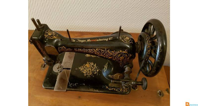 Ancienne Machine Singer de 1907