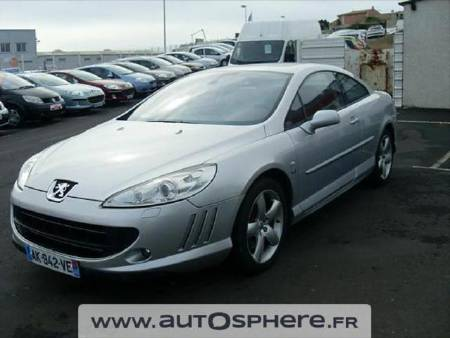 Peugeot 407 coupe 2.7 V6 HDi Griffe BAa FAP