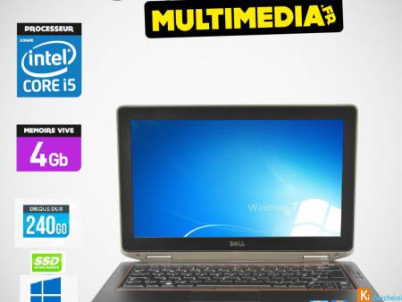 PC DELL E6420 CORE I5 VPRO 250GO SSD 4GB