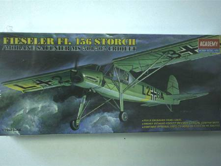 MAQUETTE ACADEMY FI 156 STORCH