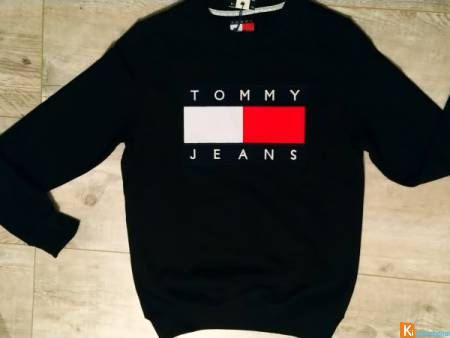 Sweat Tommy Jeans noir XL