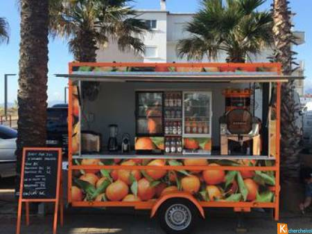 Remorque magasin food truck