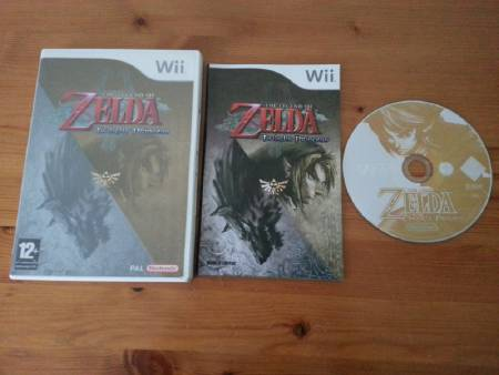 Jeu Wii The Legend of Zelda : Twilight Princess