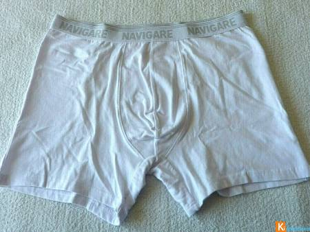 Boxer blanc taille XL neuf Navigare (100)