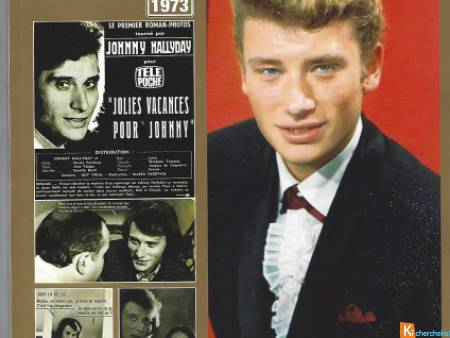 TELE POCHE HORS SERIE JOHNNY HALLYDAY-roman photo