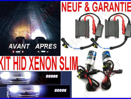 PHARE FEUX KIT AU XENON HID