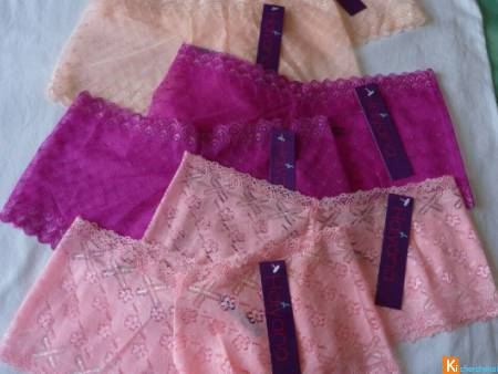 Lot de 6 Shorty taille M neuf Haiyana (343)