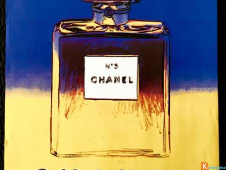 Affiche Chanel 5 - Andy Warhol
