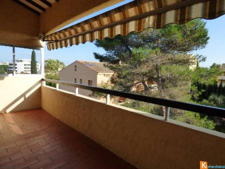 FREJUS PLAGE 3 P de 57 m² terrasse parking privé