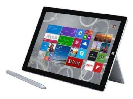 Tablette MICROSOFT Surface Pro 3 128 Go