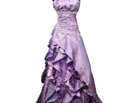 Robe Gde Taille Froufrou lilas