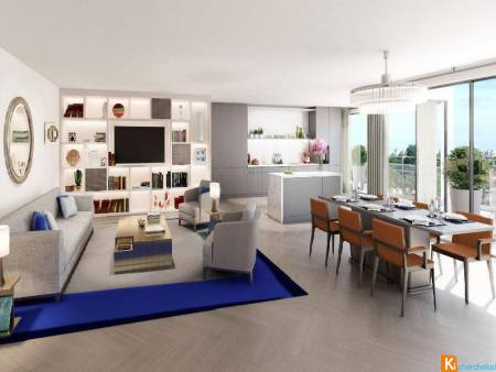 proche Jardins Luxembourg MAGNIFIQUE T5 BBC 131 m² GRAND LUXE TERRASSE 24 M² A ETRENNER