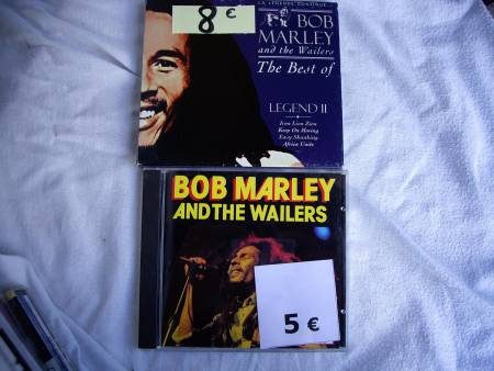 Divers CD de Bob MARLEY et de Jimmy HENDRIX
