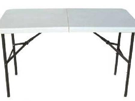 Table pliante d'appoint rectangulaire en promotion