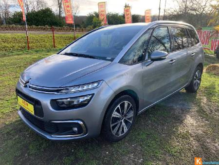 Citroen GRAND C4 PICASSO Bluehdi 120 Sets Eat6 Feel