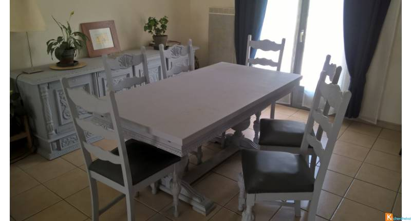 Salle A Manger Table Chaises Buffet Occasion Petite Annonce