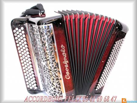 ACCORDEON CAVAGNOLO VEDETTE 10.