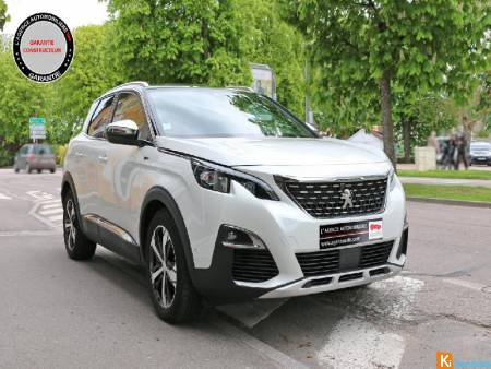 Peugeot 3008 3008 Bluehdi 180ch Sets Eat8 Gt