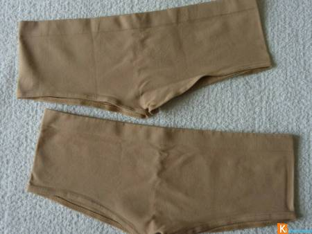 Lot 2 Culottes beige S-M neuf (238)