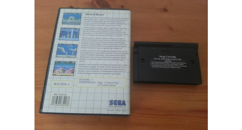 Jeu Master-System Altered Beast