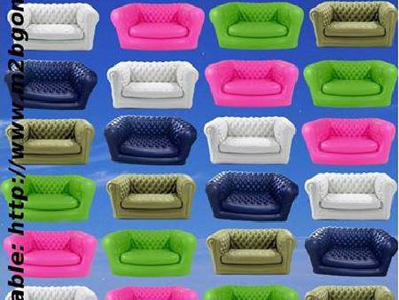 Canapé Chesterfield Gonflable