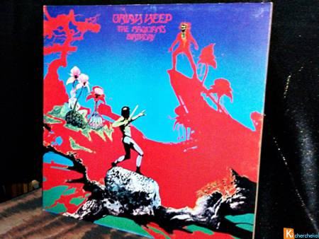 Vinyle 33-TOURS URIAH-HEEP-THE-MAGICIAN'S BIRTHDAY