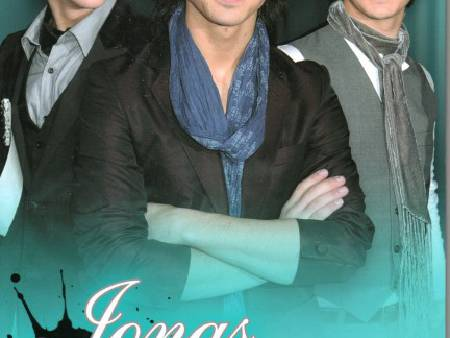 Jonas Brothers, livre-album-photo par Susan Scott