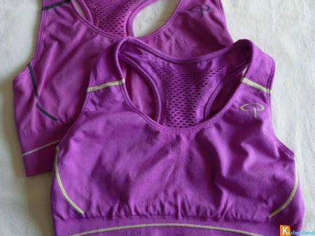 Lot 2 brassières sport fitness taille S neuf (500)